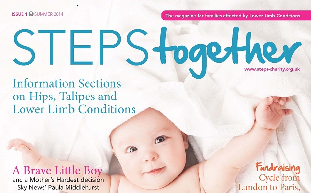 Introducing The Brand New Steps_Charity Magazine